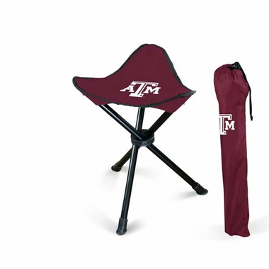 Texas A&M Collapsable Stool