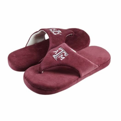 Texas A&M Comfy Flop Sandal Slippers
