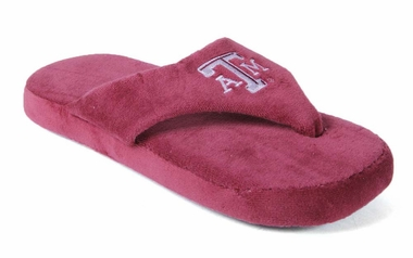 Texas A&M Unisex Comfy Flop Slippers