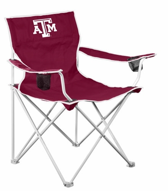 Texas A&M Deluxe Adult Folding Logo Chair
