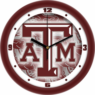 Texas A&M Dimension Wall Clock