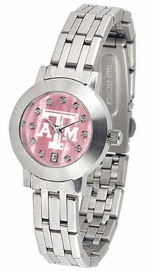 Texas A&M Dynasty Women's Mother of Pearl Watch