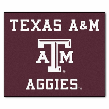 Texas A&M Economy 5 Foot x 6 Foot Mat