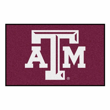 Texas A&M Economy 5 Foot x 8 Foot Mat