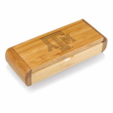 Texas A&M Elan Bamboo Corkscrew