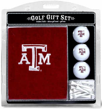 Texas A&M Embroidered Towel Gift Set