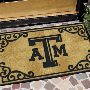 Texas A&M Exterior Door Mat
