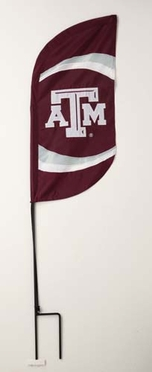 Texas A&M Feather Banner Package