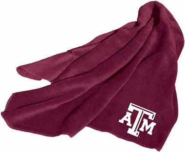 Texas A&M Fleece Throw Blanket
