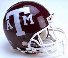 Texas A&M Full Sized Replica Helmet