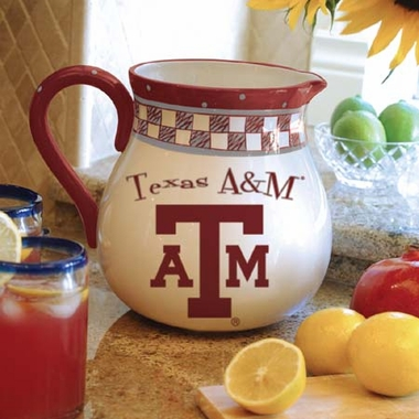 Texas A&M Gameday Ceramic Pitcher