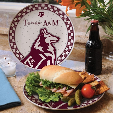 Texas A&M Gameday Ceramic Plate