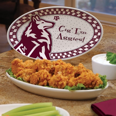 Texas A&M Gameday Ceramic Platter