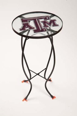 Texas A&M Glass Table