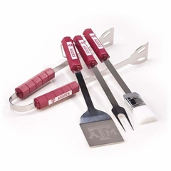 Texas A&M Grill BBQ Utensil Set (P)