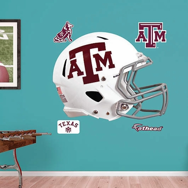 Texas A&M Helmet Fathead Wall Graphic
