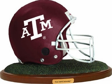 Texas A&M Helmet Figurine