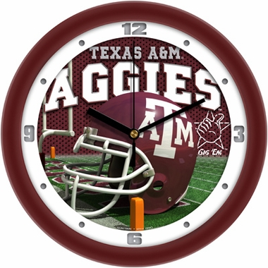 Texas A&M Helmet Wall Clock