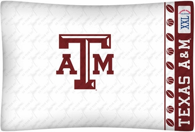 Texas A&M Individual Pillowcase