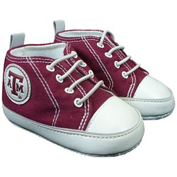 Texas A&M Infant Soft Sole Shoe