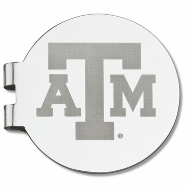 Texas A&M Laser Engraved Money Clip