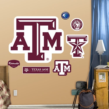 Texas A&M Logo � Fathead Wall Graphic