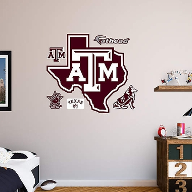 Texas A&M Logo Fathead Wall Graphic