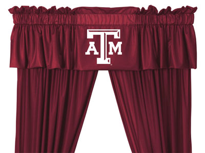 Texas A&M Logo Jersey Material Valence