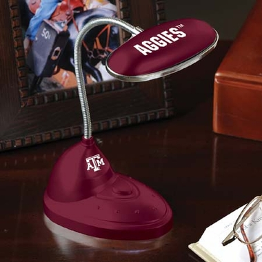 Texas A&M Mini LED Desk Lamp