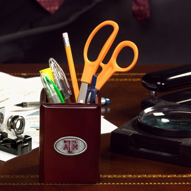 Texas A&M Pencil Holder