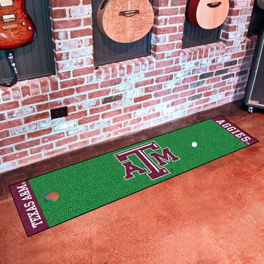 Texas A&M Putting Green Mat