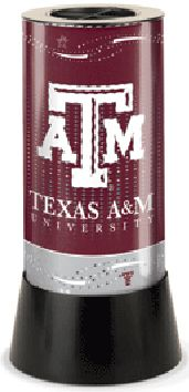 Texas A&M Rotating Lamp
