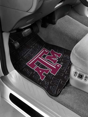 Texas A&M Set of Rubber Floor Mats