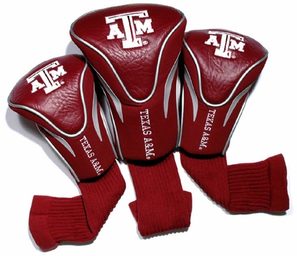 Texas A&M Set of Three Contour Headcovers