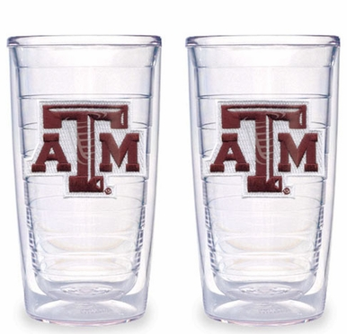 Texas A&M Set of TWO 16 oz. Tervis Tumblers