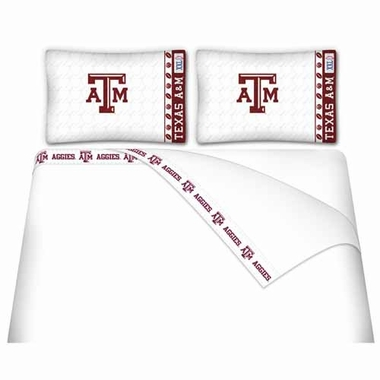Texas A&M Sheet Set