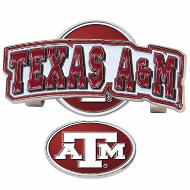 Texas A&M Slider Clip With Ball Marker