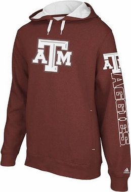 Texas A&M Spirit Full Zip Hooded Sweatshirt