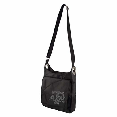 Texas A&M Sport Noir Sheen Crossbody Bag