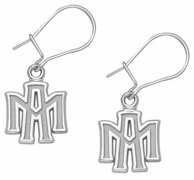 Texas A&M Sterling Silver Post or Dangle Earrings