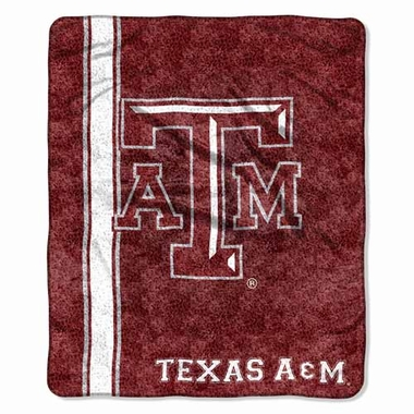 Texas A&M Super-Soft Sherpa Blanket
