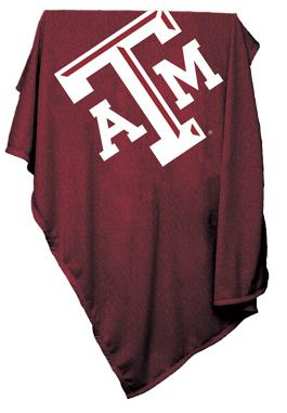 Texas A&M Sweatshirt Blanket