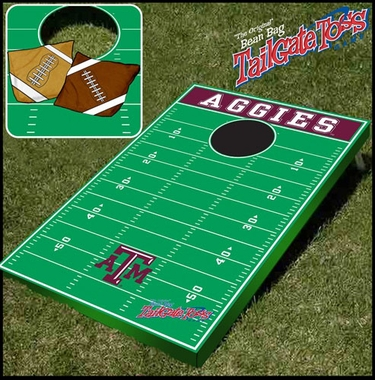 Texas A&M Tailgate Toss Cornhole Beanbag Game