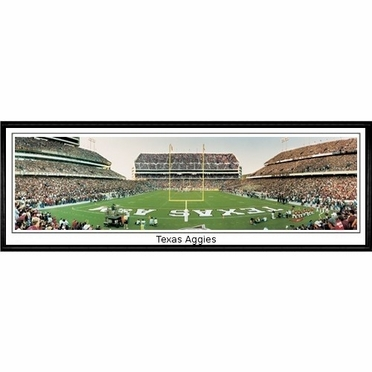Texas A&M Texas Aggies Framed Panoramic Print