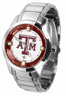 Texas A&M Titan Men's Steel Watch