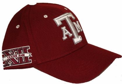 Texas A&M Triple Conference Adjustable Hats