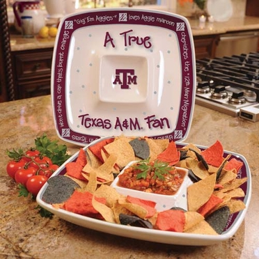 Texas A&M True Fan Chip and Dip
