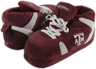 Texas A&M UNISEX High-Top Slippers - Large