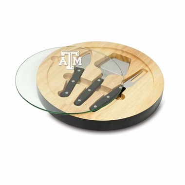Texas A&M Ventana Cheese Board (Black)