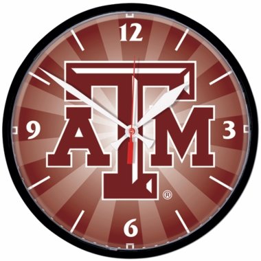 Texas A&M  Wall Clock